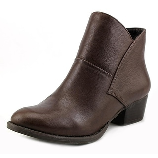 Jessica Simpson Darbey Round Toe Leather Ankle Boot