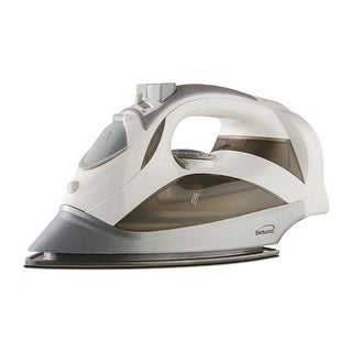 """Brentwood Power Steam Iron Non-Stick - White Power Steam Iron"""