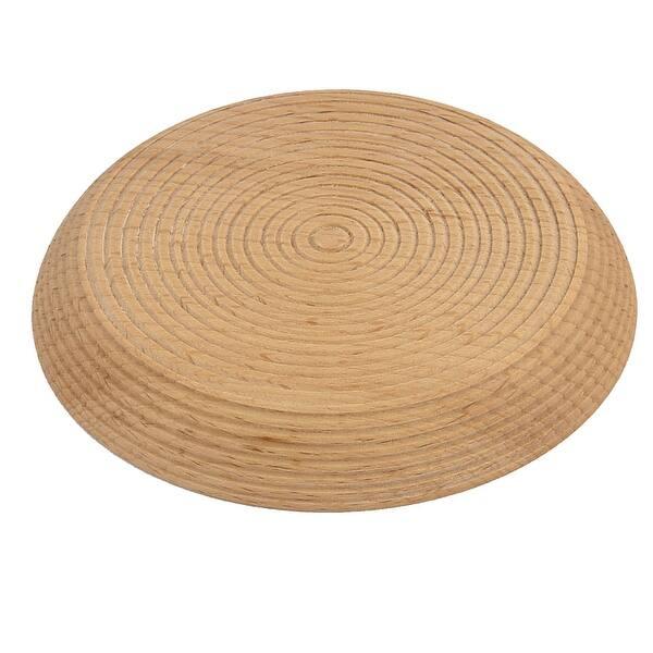Wood Grain Pattern Round Shape