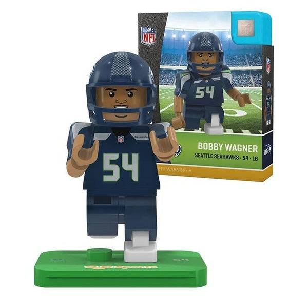 Shop Seattle Seahawks Bobby Wagner Limited Edition Oyo Minifigure - Free  Shipping On Orders Over  45 - Overstock.com - 21722763 f492bb7ef