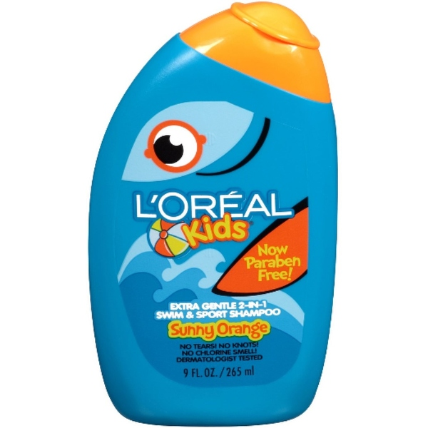L'Oreal Kids 2-in-1 Shampoo Swim & Sport, Sunny Orange 9 oz