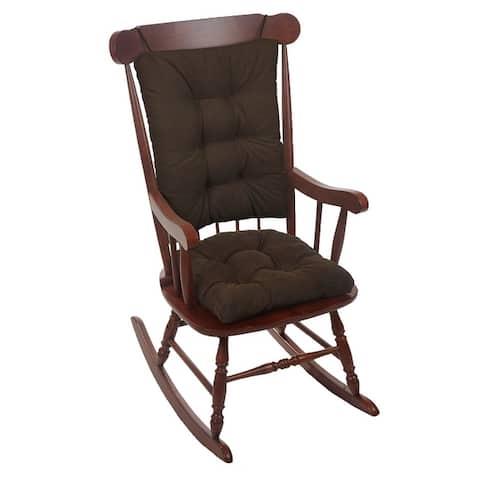 Gripper Twillo Jumbo Rocking Chair Cushion Set
