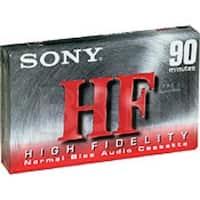Audio, Cassette, 90 Minute, HF, Type I normal bias,