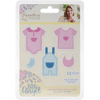 Sara Davies Signature Little Angel Metal Dies-My First Outfit