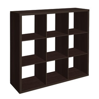 OS Home and Office Model H10CO23 8 Cube Storage Bookcase in Espresso