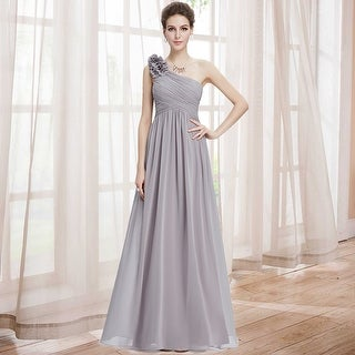 Ever-Pretty Womens One Shoulder Long Party Dress 08237