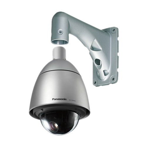 Panasonic WV-CW594A with Wall Mount Super Dynamic 6 Weather Resistant Dome Camera