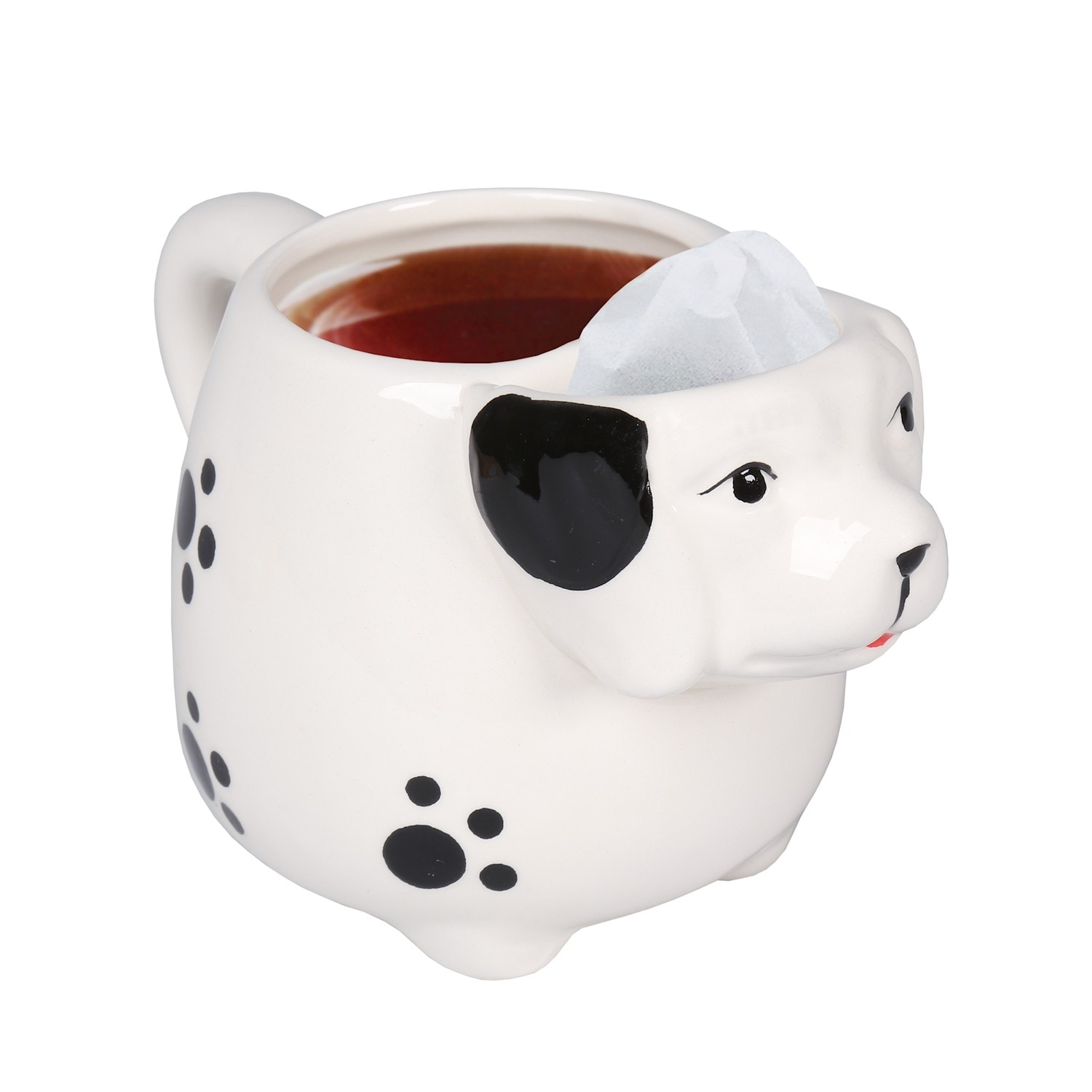 Animal Shaped Tea Mugs Cute Ceramic Elephant Puppy Dog Cat Or Owl Cup 7 5 In X 5 5 In X 5 In Overstock 25480923