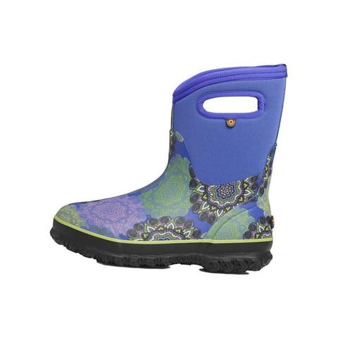 Bogs Outdoor Boots Womens Classic Mandala Pull On Waterproof
