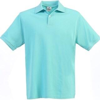 Boys Girls River Blue Short Sleeve School Uniform Polo Shirt 8-16