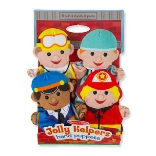 Jolly Jobs Hand Puppets