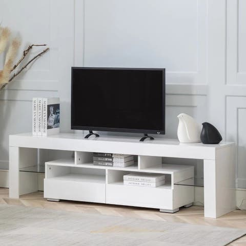 65 Inch Glossy LED TV Stand