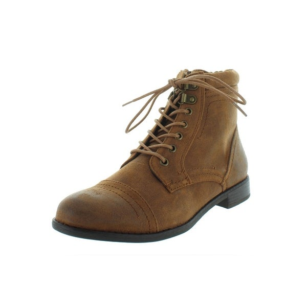 Shop White Mountain Womens Tifton Casual Boots Faux Suede Ankle ... d5f3dc1ab2b8
