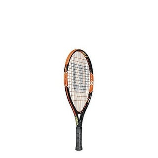 Wilson Boys Burn 19 Racket, Black/Orange, 3.5
