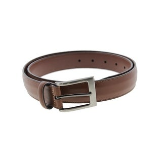 Perry Ellis Mens Casual Belt Leather Textured