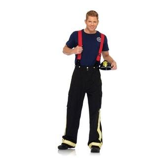 Fire Captain Mens Sexy Firefighter Halloween Costume