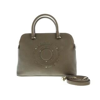 Versace EE1VOBBA6 E969 Taupe  Satchel/Shoulder Bag - 14-12-6