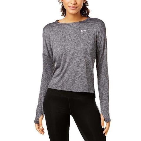 Nike Women Dry Medalist Running Lightweight Long Sleeve Top