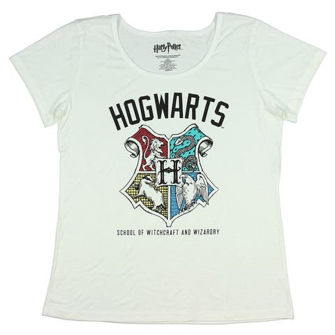 Harry Potter Juniors Hogwarts School Of Witchcraft And Wizardry T-Shirt