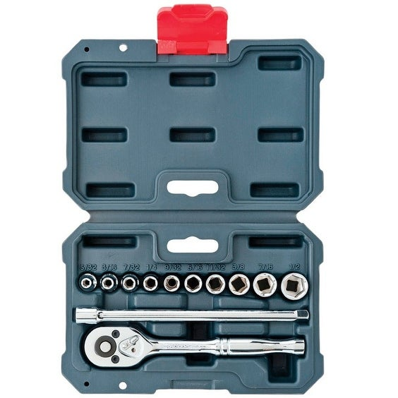 Crescent CSWS0 Drive SAE Socket Wrench Set
