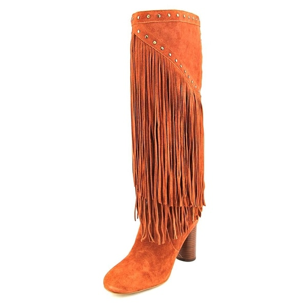 INC International Concepts Tolla Women Spiced Orange Boots