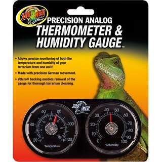 Dual Thermometer And Humidity Gauge