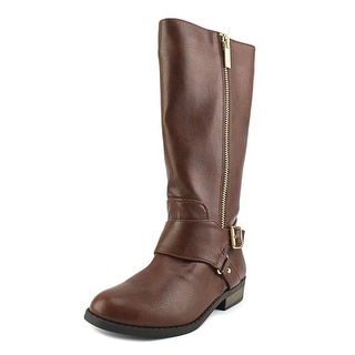 Jessica Simpson Kingsley Pointed Toe Leather Knee High Boot