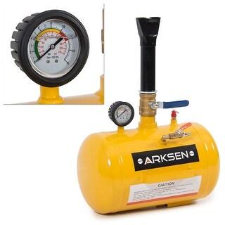 Arksen 5 Gallon Air Bead Seater Portable, Yellow