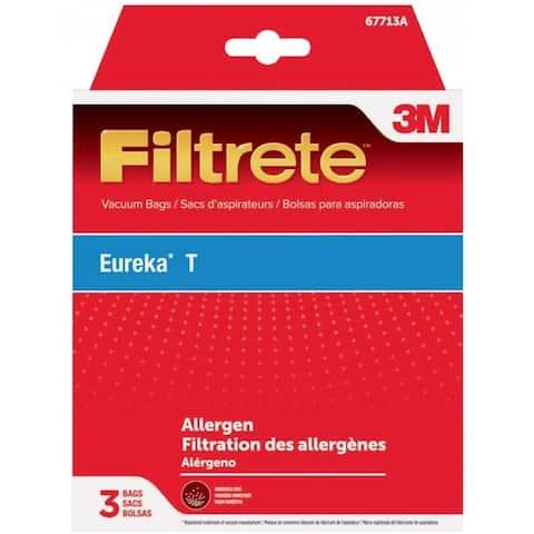 3M 67713 Filtrete Eureka T Style Allergen Vacuum Bags