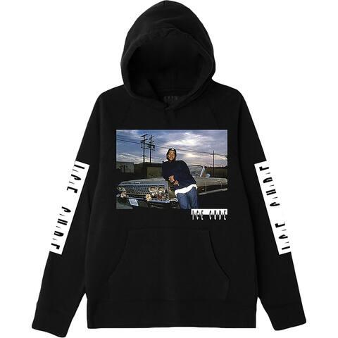 Gildan Mens Ice Cube Hoodie Comfy Cozy - Black