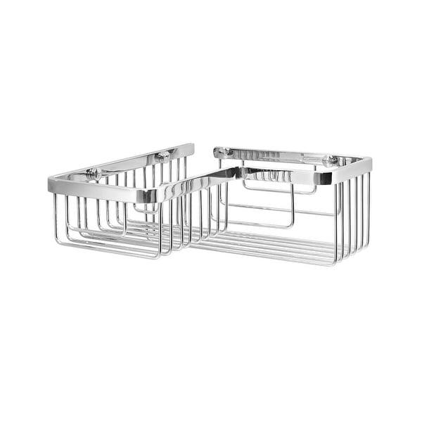 Shop WS Bath Collections Filo 50013 Metal Corner Shower Basket ...