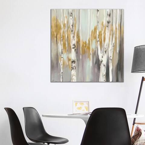 """iCanvas """"Silver Birch II"""" by Julia Purinton Canvas Print"""