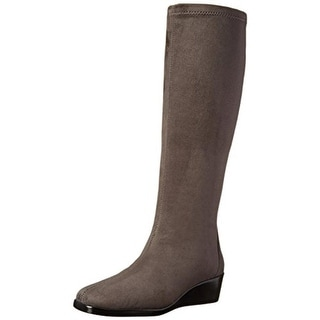 A2 By Aerosoles Womens Tempirical Wedge Boots Comfort Insole