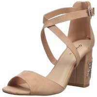 Qupid Women's Chester-132 Heeled Sandal