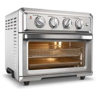 Cuisinart TOA-60 Air Fryer Toaster Oven (Silver) (Refurbished)
