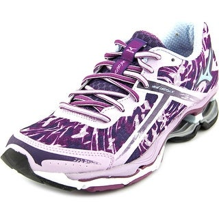 Mizuno Wave Creation 15 Women Round Toe Synthetic Purple Running Shoe