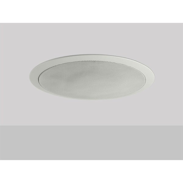 Monoprice Commercial Audio 50W 6.5-Inch Coax Ceiling Speaker with ABS Back Can & Grill 70V (NO LOGO)
