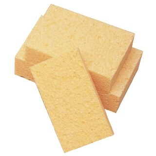 School Smart Large Cellulose Sponge, 7 x 4-1/8 x 1-3/8 Inches