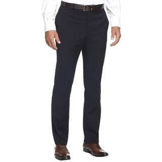 Perry Ellis Mens Dress Pants Pinstripe Slim Fit