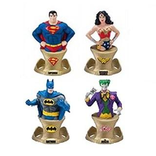 DC Comics Resin Paper Weight 4 Piece SDCC 2014 Set - multi