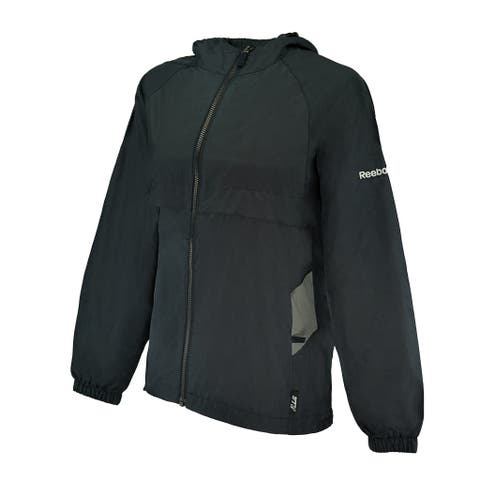 Reebok Women's Express II Water-Resistant Wind Jacket