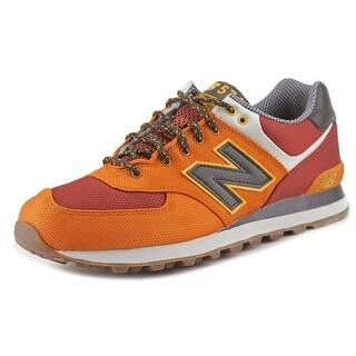 New Balance ML574 Men Synthetic Orange Fashion Sneakers