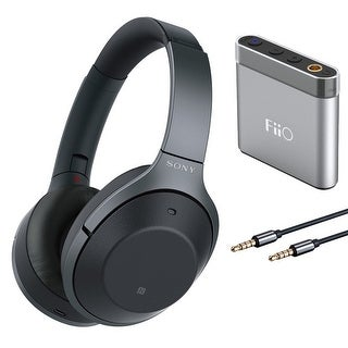 Sony WH1000XM2 Noise Cancelling Headphones and FiiO A1 Portable Amp Bundle