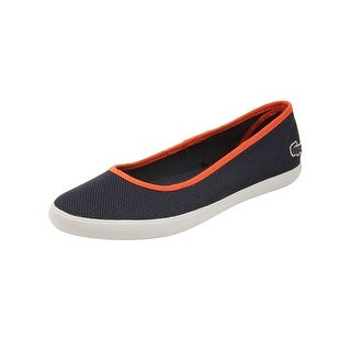 Lacoste Womens Marthe Slip-On 216 Sneakers in Navy
