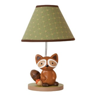 Lambs & Ivy Brown Echo Lamp with Shade & Bulb