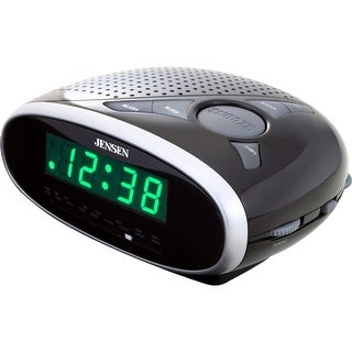 Jensen jcr-175a am/fm alarm clock radio