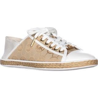 MICHAEL Michael Kors Kristy Slide Heel Cap Espadrille Sneakers, Beige/ Camel