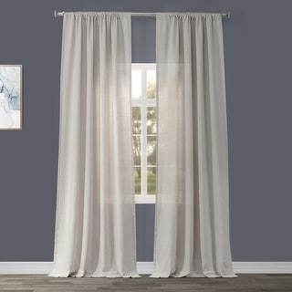 Link to Exclusive Fabrics Signature French Linen Curtain Panel Similar Items in Window Treatments