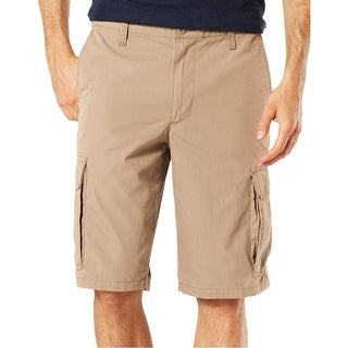 Dockers Beige Mens Size 32 Stretch Performance Cargo Shorts