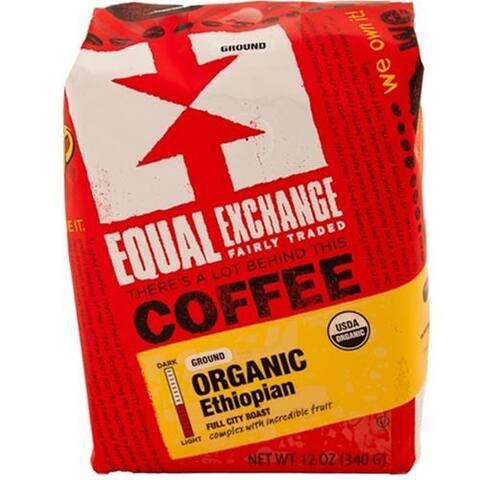 Equal Exchange - Organic Ethiopian Coffee ( 6 - 12 OZ)